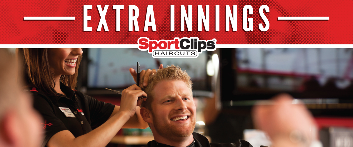 The Sport Clips Haircuts of Jensen Beach Extra Innings Offerings